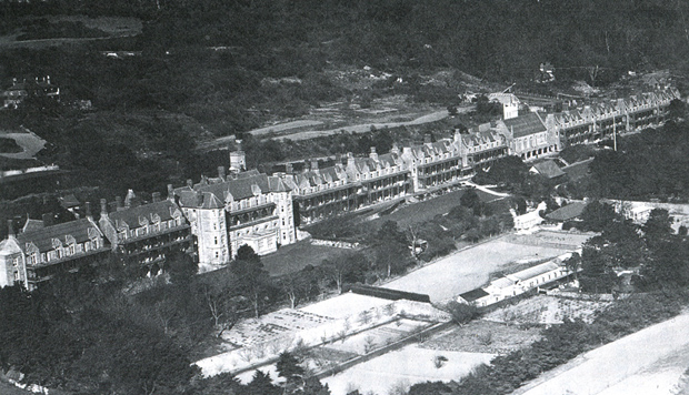 Picture of The Royal National Hospital. A panoramic view