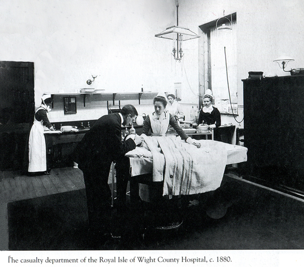 Picture of Casualty Department Royal Isle of Wight County Hospital, 1880
