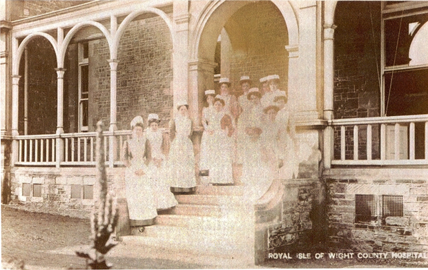Picture of Nursing staff - Royal Isle of Wight County Hospital, c1900