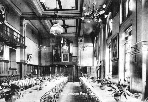 Picture of Dining Hall 'Jones Building'. Royal National Hospital