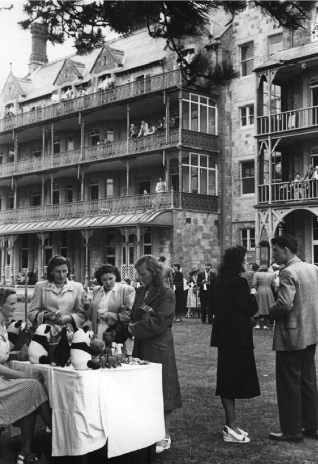 Picture of Summer Fete. Early 1950's. RNVH.