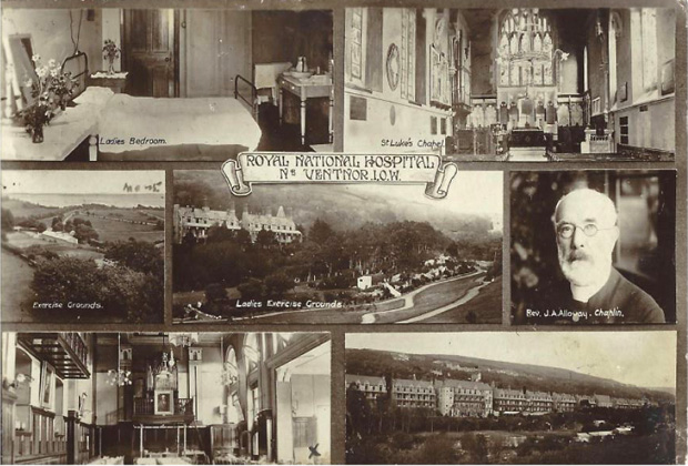 Picture of Postcard. Royal National Hospital.