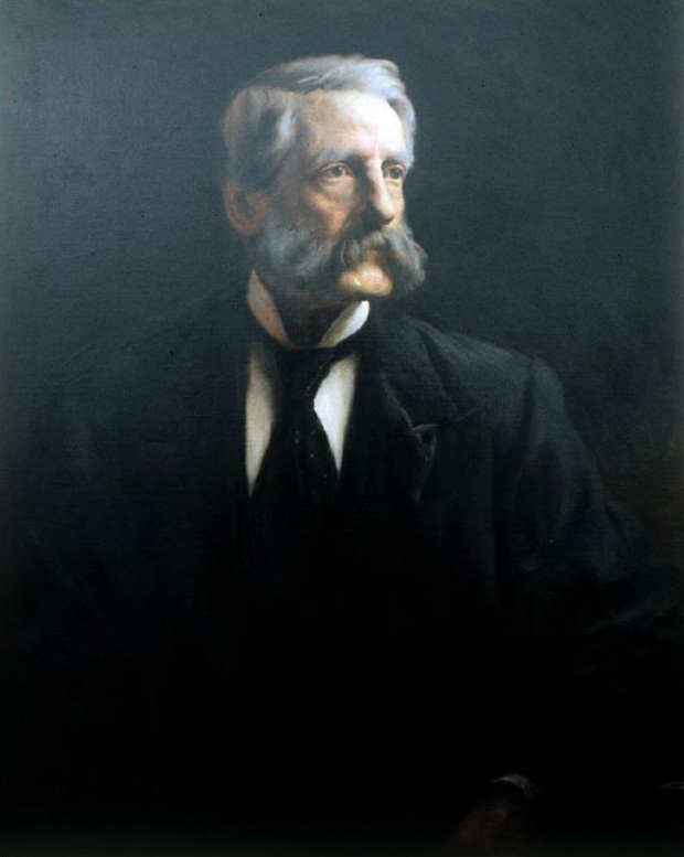 Picture of Dr. Arthur Hill Hassall by Lance Calkin 1894