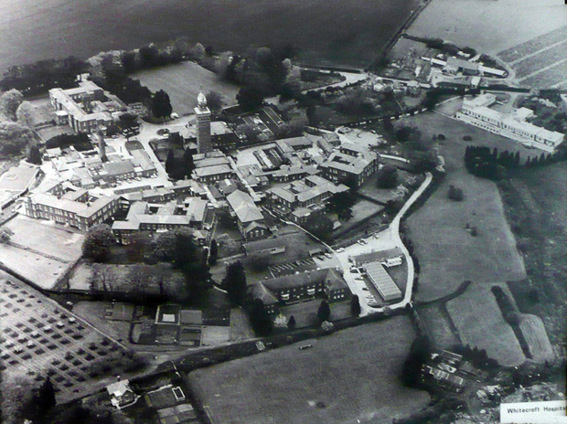 Picture of Whitecroft Mental Hospital in 1979