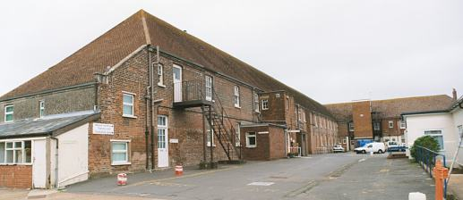 Picture of Isle of Wight main building from the south-east, 2001