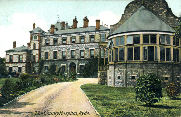Picture of Royal Isle of Wight Infirmary and County Hospital, 1909