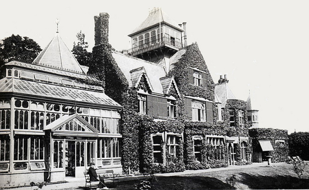 Picture of Longford House circa 1890