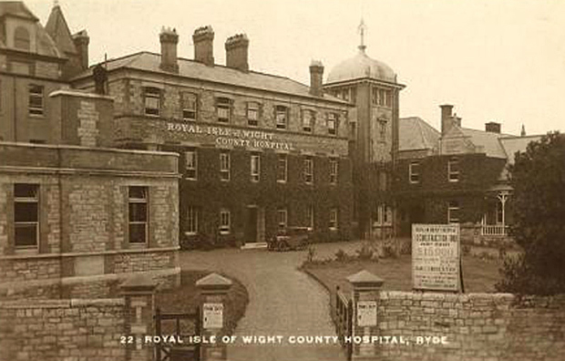 Royal Isle of Wight County Hospital circa 1930
