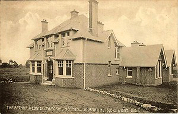 Picture of the Arthur Webster Memorial Hospital, Shanklin